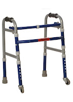 Invalid Folding Walker Castors