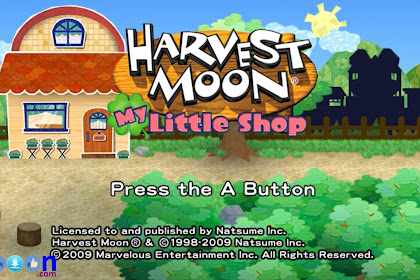 How to Download Game PC Laptop Harvestmoon My Little Shop Free Full Version