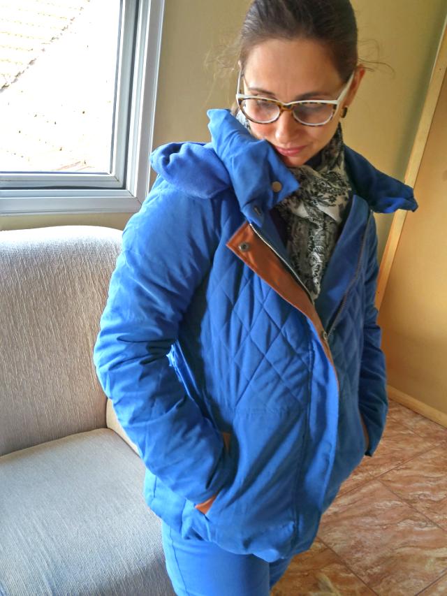 Casaco azul