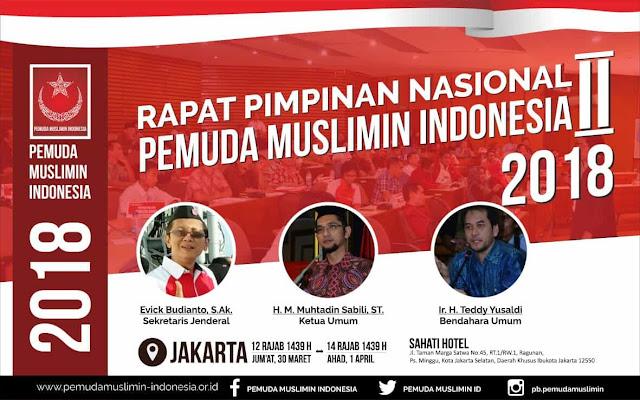 Rapat Pimpinan Nasional (Rapimnas) 2 Pemuda Muslimin Indonesia tahun 2018