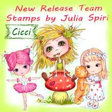 I am  a Design-team member over at Julia Spiri