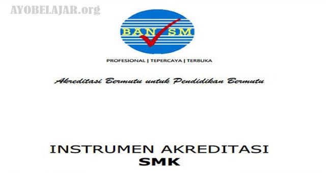Juknis Pengisian Instrumen Akreditasi SMK dan Instrumen Pengumpulan Data - Badan Akreditasi Nasional Sekolah/Madrasah