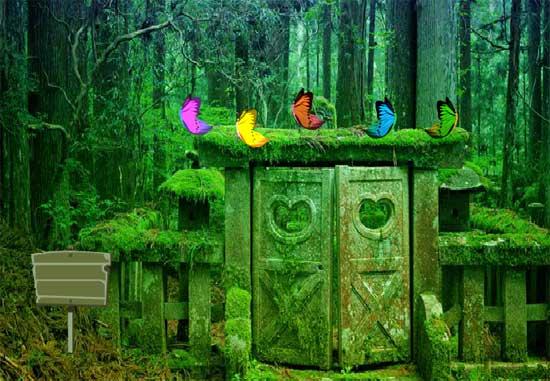 Suicide Forest Escape Juego Solución