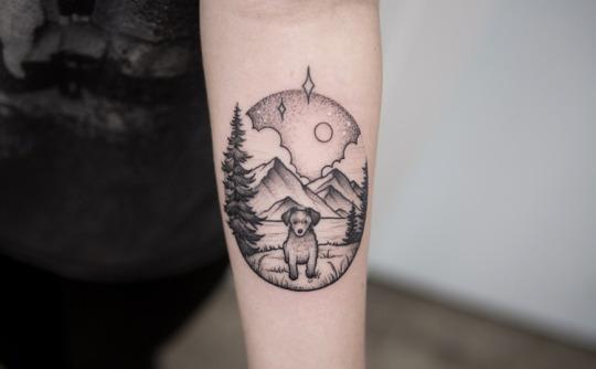 Creative Dog Tattoos