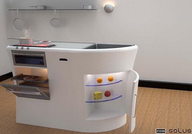 d coration mini cuisines pour les studios d cor de. Black Bedroom Furniture Sets. Home Design Ideas