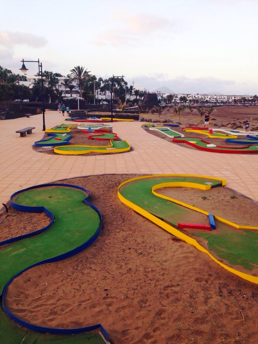Miniature Golf in Puerto del Carmen, Lanzarote, Spain