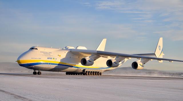 Ukrainian Antonov An-225 Mriya Largest Aircraft Ever