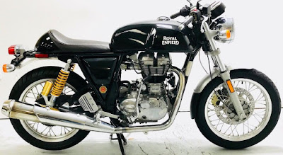 Royal Enfield motorcycle that was not properly identified in ad