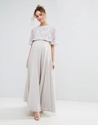 Vestidos de Noche para Embarazadas 2017