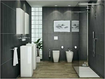 Ideas For Decorating A Black Bathroom Elegant