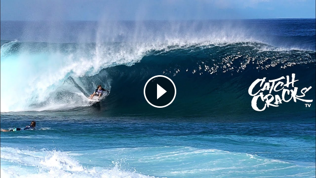 Billabong PIPELINE Masters Invitational RAW FOOTAGE Day 1 Part 1