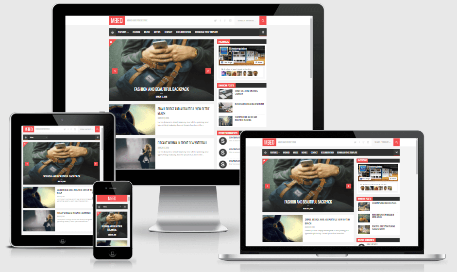 Download Meed Responsive Blogger Theme