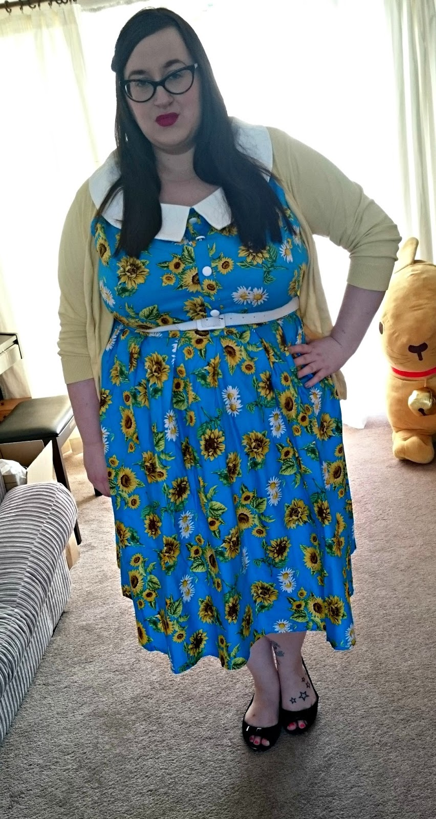 What Does Gti Stand For >> Hell Bunny Sunflower - Does My Blog Make Me Look Fat?