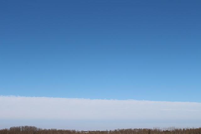 Beautiful Blue January Sky
