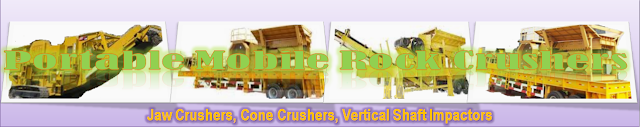 Portable Mobile Rock Crushers