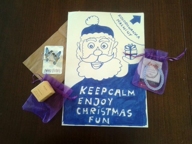 Malwina z bloga Tymczasem w Bułgarii otrzymuje prezent mikołajkowy z Hiszpanii