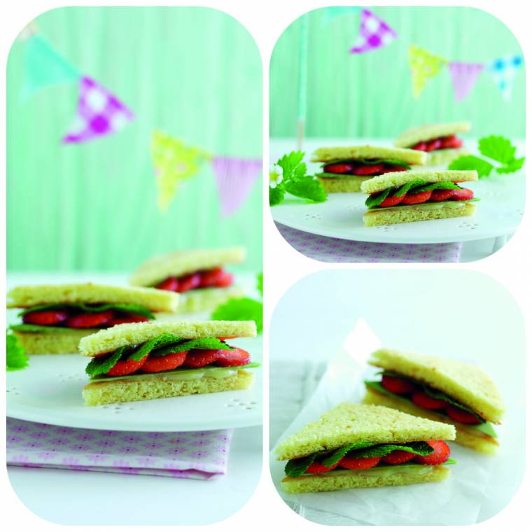 Strawberry Sandwich: Luxury Afternoon Tea