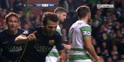 UEFA Group H: Celtic 0 vs 1 Barcelona 01-10-2013