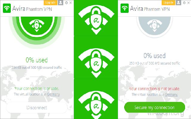 Avira Phantom VPN Pro 2.19.1.25749 F.u.l.l - Ẩn danh trên internet