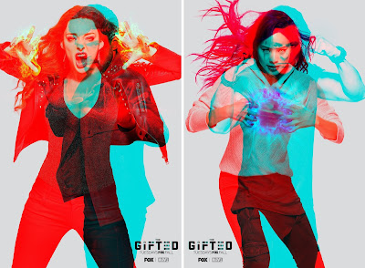 "San Diego Comic-Con 2018 Exclusive The Gifted Season 2 ""Mutant Vision"" Teaser Television Posters"