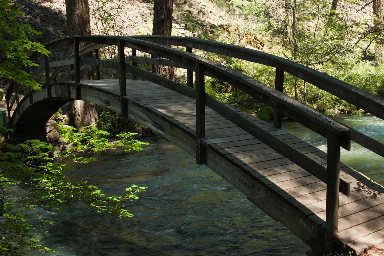 around california rainbow bridge over burney creek. Black Bedroom Furniture Sets. Home Design Ideas