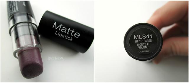 NYX Up The Bass Matte Lipstick