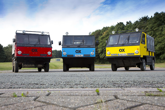 Global Vehicle Trust OX by Gordon Murray