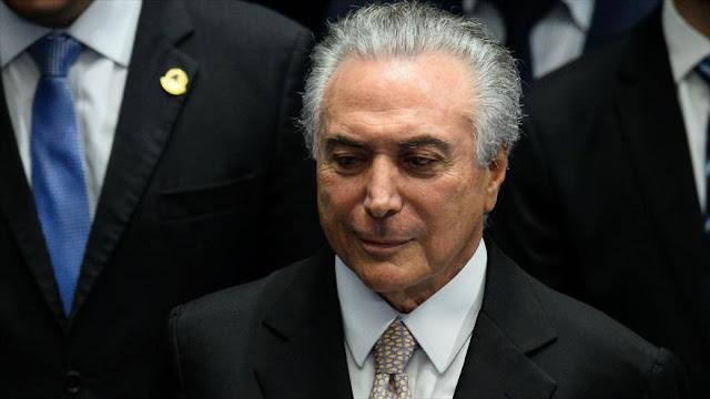 Temer minimiza a los grupos que protestan en apoyo a Rousseff