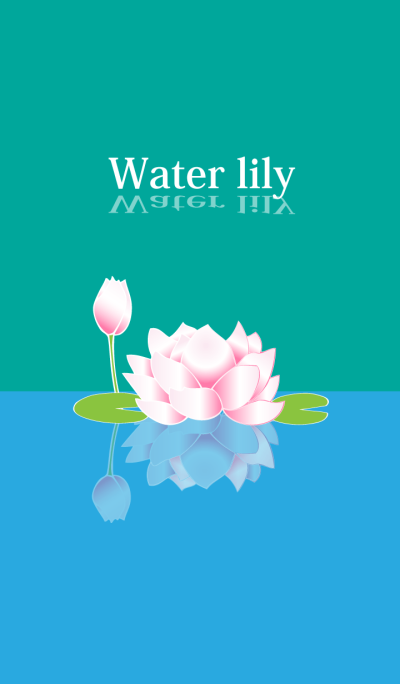 Goldfish and Water lily