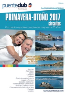 Catalogo de viajes Puenteclub Primavera-Otoño 2018