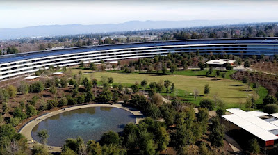 Latest drone footage shows Apple Park nears completion