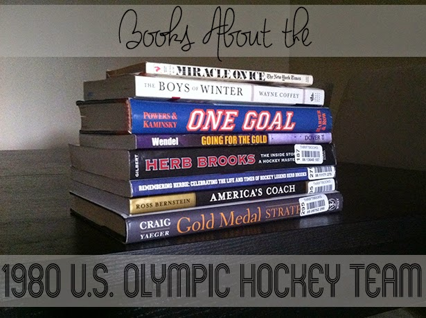 books about the 1980 U.S. olympic hockey team miracle on ice