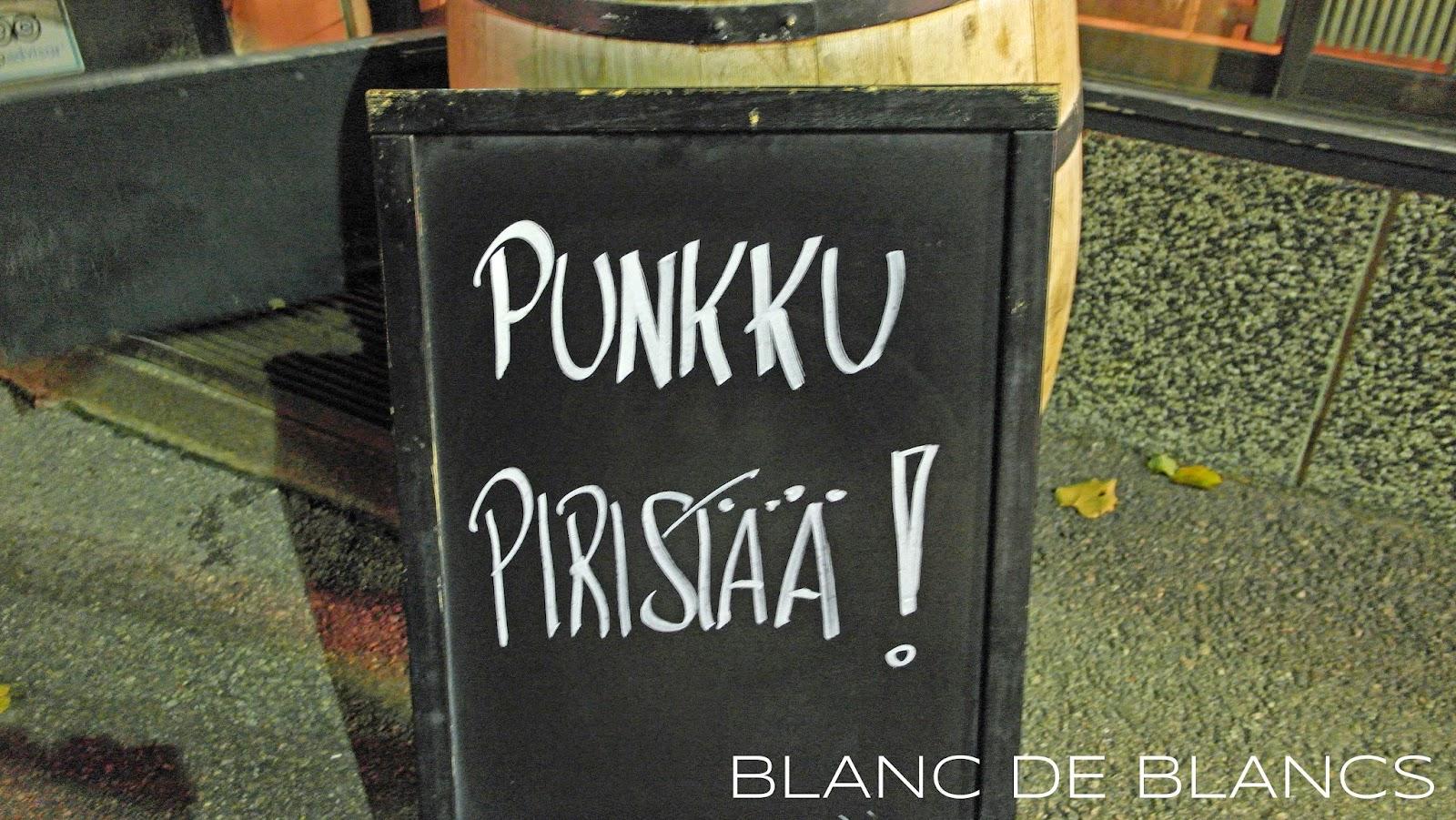 Punkku piristää! - www.blancdeblancs.fi