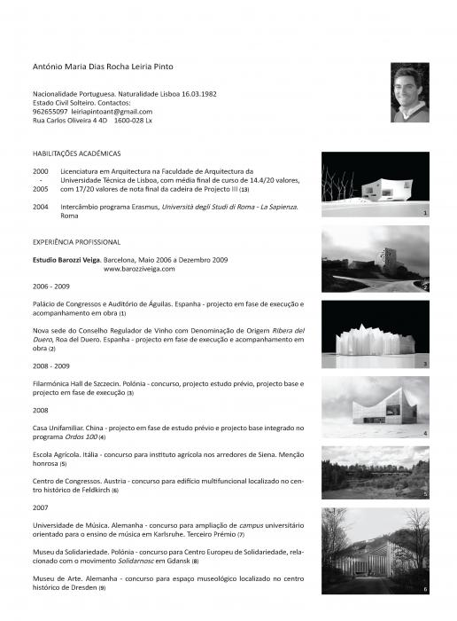 Antonis Skitsas Architecture © CV