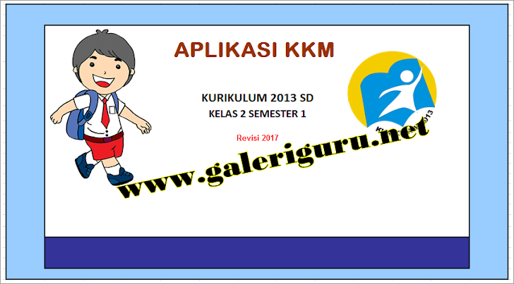 Aplikasi KKM SD Kurikulum 2013 Revisi @2017