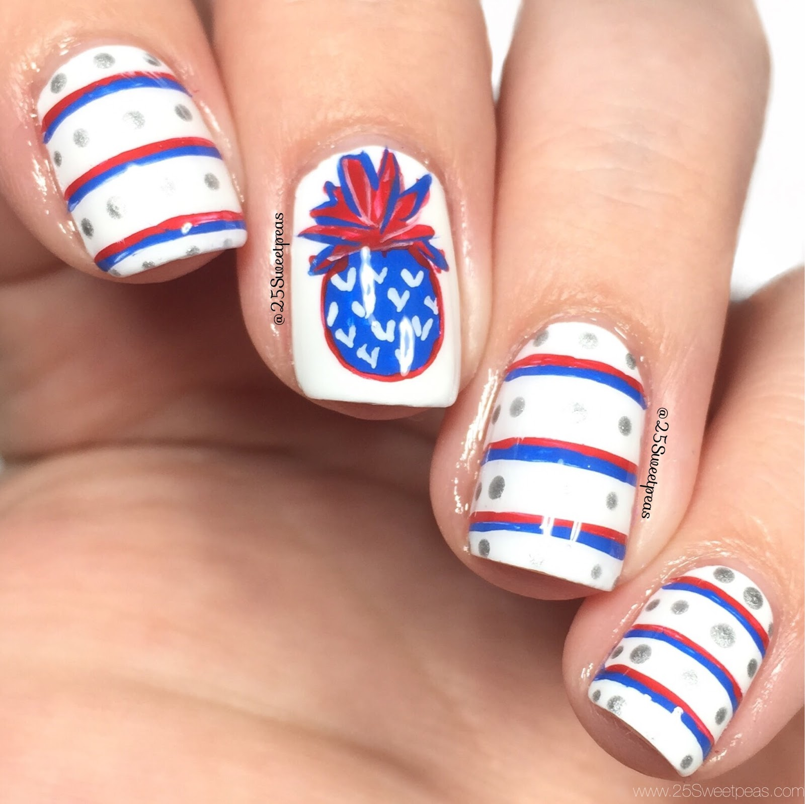 Patriotic Pineapples
