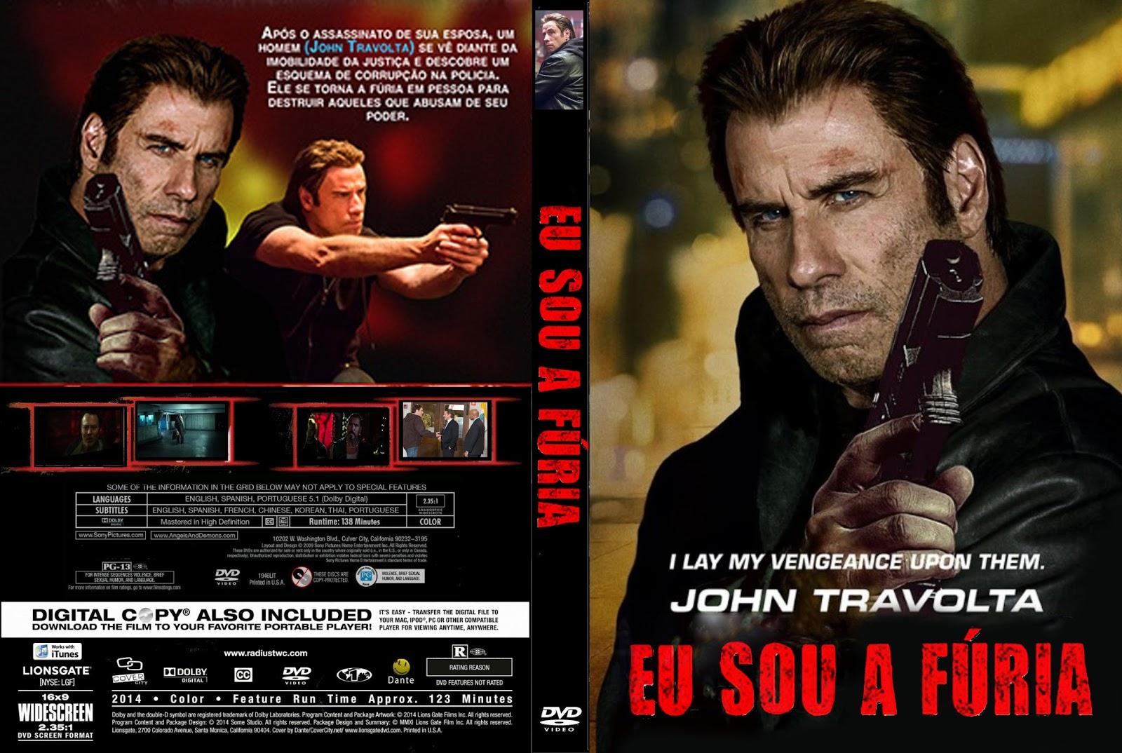 Download Eu Sou a Fúria DVD-R Eu Sou a F C3 BAria   Capa Filme DVD