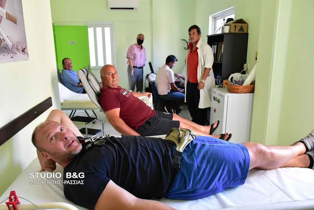 Ναύπλιο: Μεγάλη συμμετοχή και ανταπόκριση για προσφορά αίματος στο Νοσοκομείο Παίδων «ΑΓΙΑ ΣΟΦΙΑ»