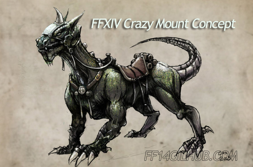 FFXIV Crazy Mount Concept