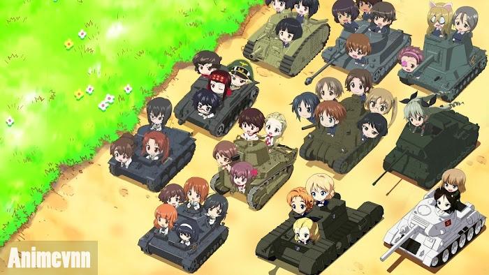 Ảnh trong phim Girls und Panzer Movie 1
