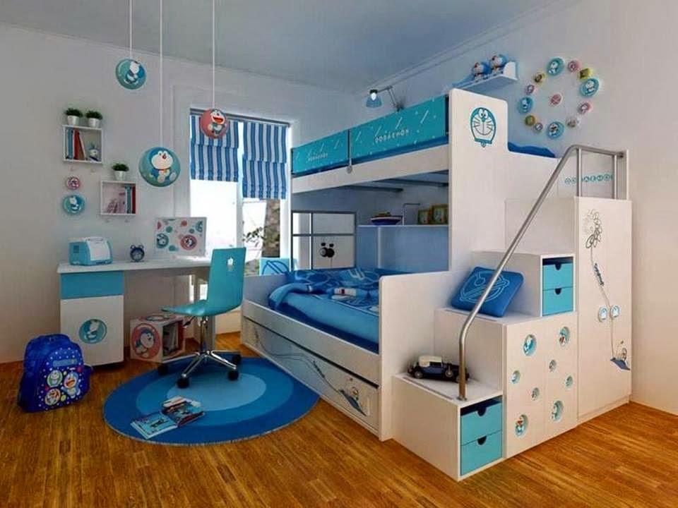 desain kamar tidur anak berdua minimalis