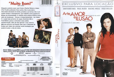 Filme Arte, Amor e Ilusão (The Shape of Things) DVD Capa