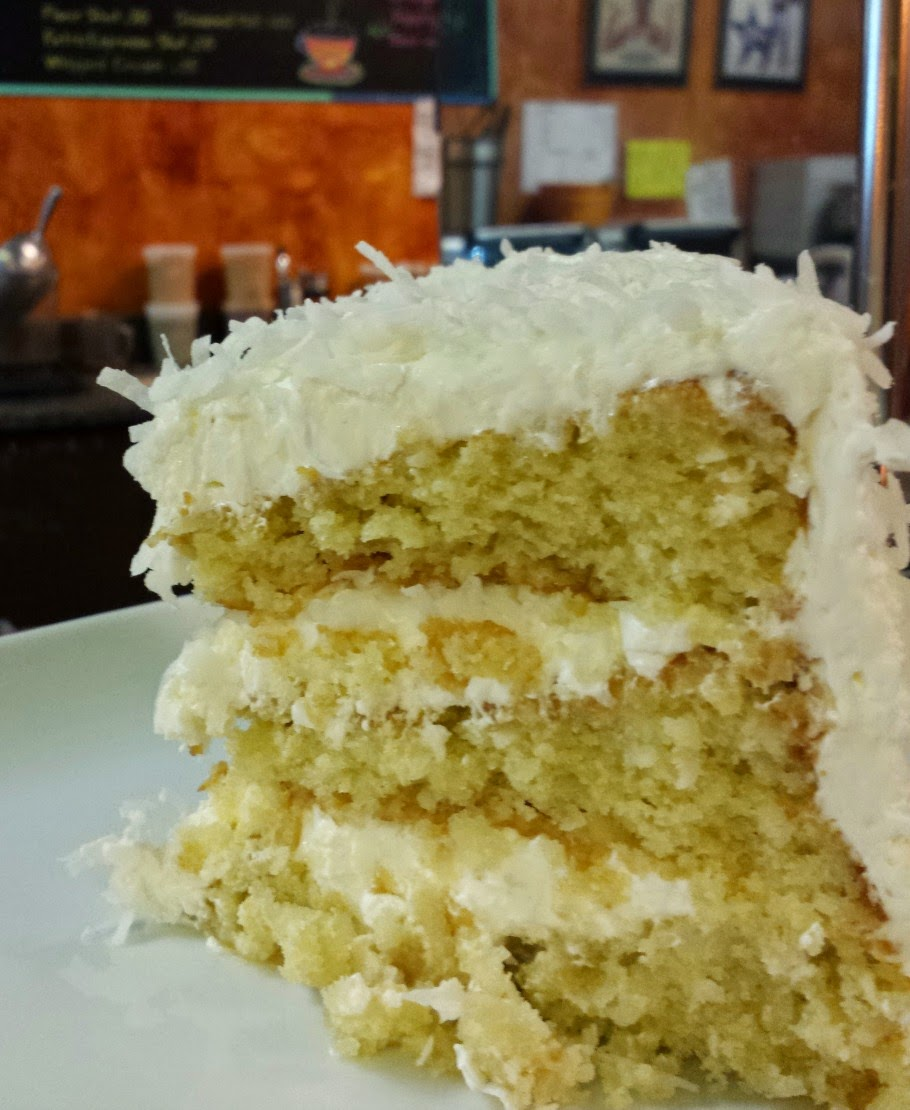 Coconut Cake sold in Bean Traders in Durham, N.C