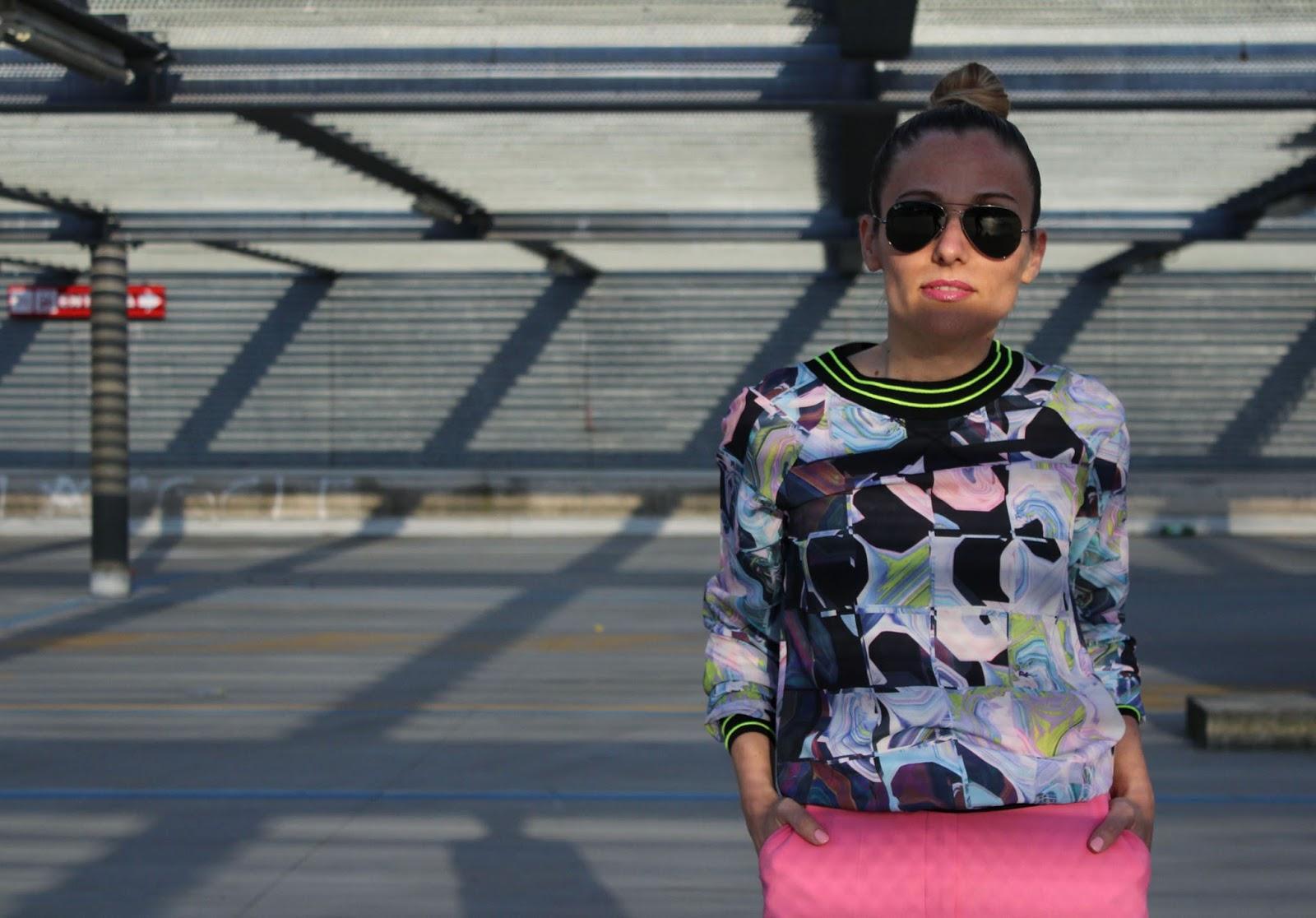 Eniwhere Fashion - Zara pink pants