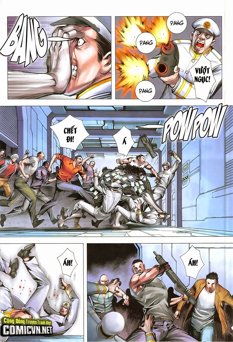Đại Quân Phiệt chap 48: đại loạn chiến trang 26