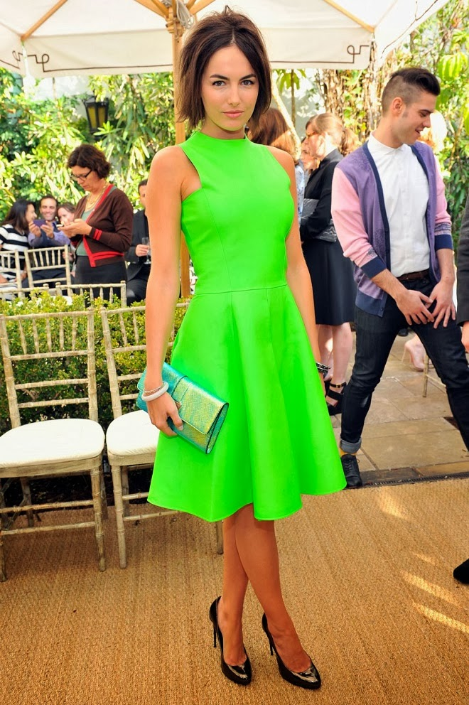 Camilla Belle in Ralph Lauren at the 2013 CFDA and Vogue ...