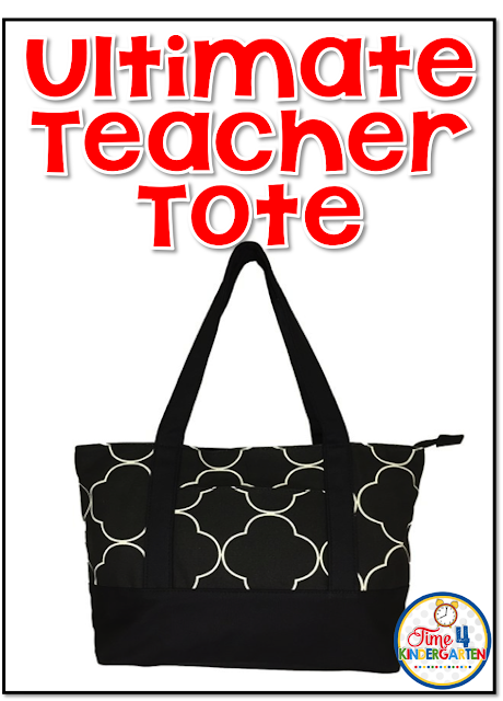 Ultimate Teacher Tote bag, teacher work bag
