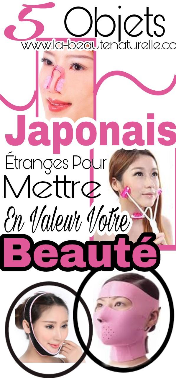 5 objets japonais étranges pour mettre en valeur votre beauté