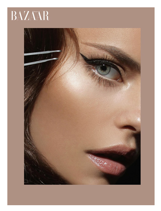 A Models Secrets Glam Eye Makeup