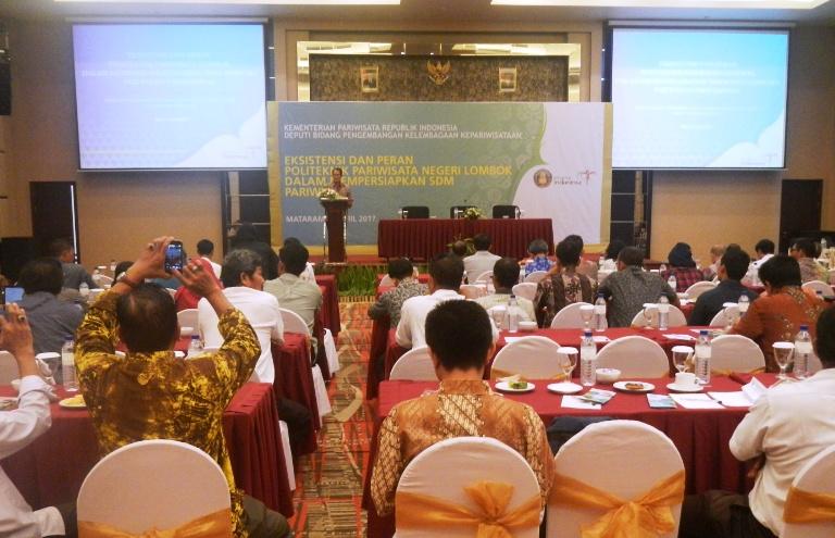 Rakor Poltekpar Negeri Lombok, Sinergi Tingkatkan SDM Pariwisata NTB